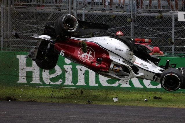 L'incidente di Marcus Ericsson – LaPresse