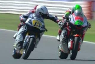 Moto2, dopo Fenati penalizzato anche Manzi: perde sei posizioni in griglia ad Aragon