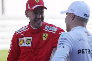 """Vettel sorride nonostante il 3° posto: """"La Ferrari c'è, la gara si deciderà in partenza"""""""