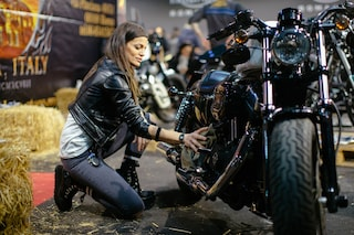 Eternal city motorcycle custom show, il mondo delle moto in mostra a Roma