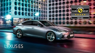 Crash test Euro Ncap, 5 stelle per la nuova Lexus ES Hybrid