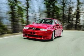All'asta l'Alfa Romeo 155 GTA Stradale, il modello unico nato dai successi del Biscione nelle corse
