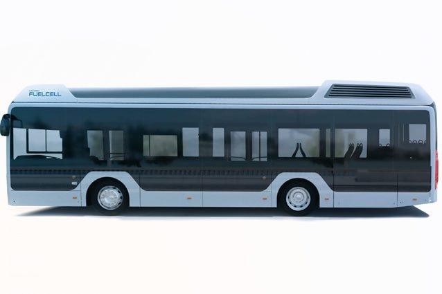 Il bus a idrogeno della Toyota