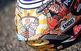 MotoGP, Marquez con un casco speciale per il Gp del Giappone