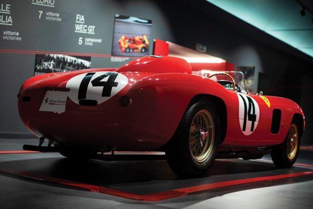 La Ferrari 290 MM by Scagliettidel 1956– Foto RM Sotheby's