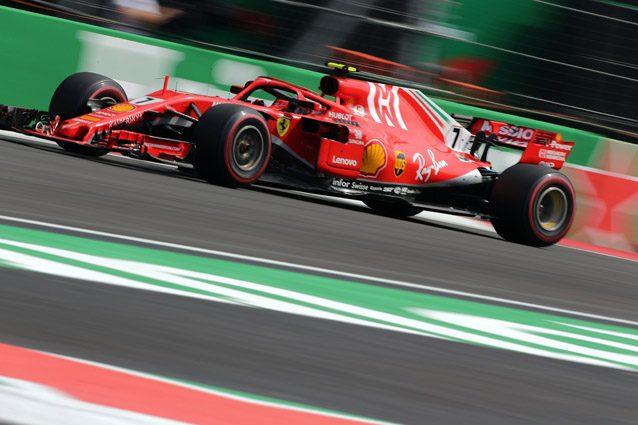 La Ferrari di Kimi Raikkonen – LaPresse