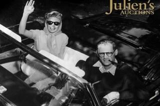 All'asta l'auto di Marylin Monroe, ad Hollywood in vendita la Ford Thunderbird della diva