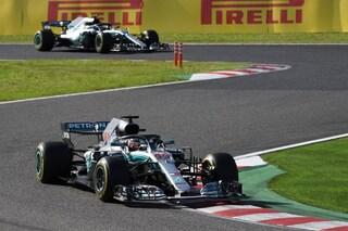 Vettel sbaglia, Hamilton no: l'inglese imperatore in Giappone mette le mani sul mondiale