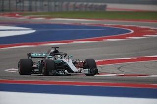 F1 GP Stati Uniti, Qualifiche: Hamilton in pole, al suo fianco la Ferrari di Raikkonen