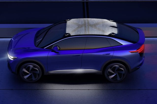 L'illuminazione sui veicoli Volkswagen del futuro