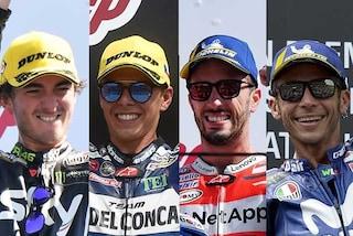 MotoGP, Italia da record in Thailandia: 800 vittorie nel Motomondiale
