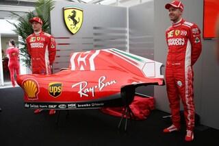 F1, in Giappone nuova livrea per le Ferrari di Vettel e Raikkonen