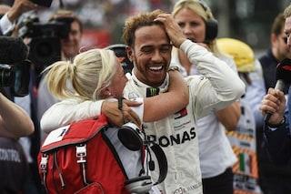 """Hamilton: """"Eguagliare Fangio è una sensazione incredibile"""""""