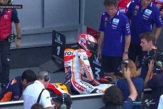 MotoGP, pole di Marquez in Thailandia, Rossi e Dovizioso in prima fila
