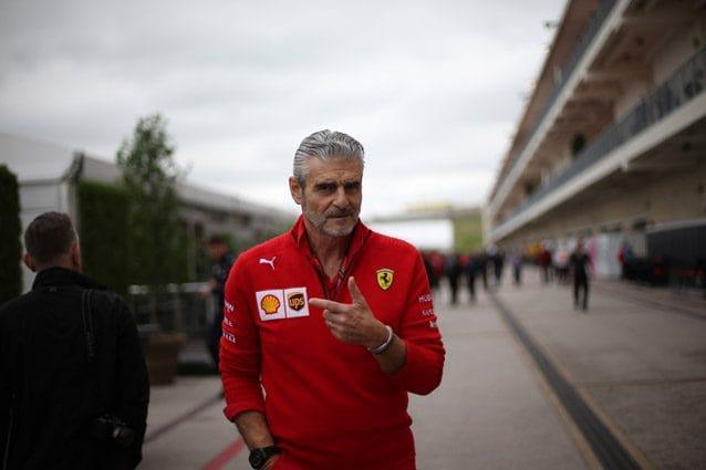Il team principal della Ferrari Maurizio Arrivabene – LaPresse
