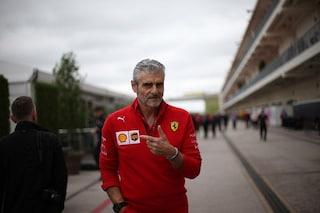 """Arrivabene sprona la Ferrari: """"Bravo Lewis, ma ora giochiamoci il mondiale costruttori"""""""