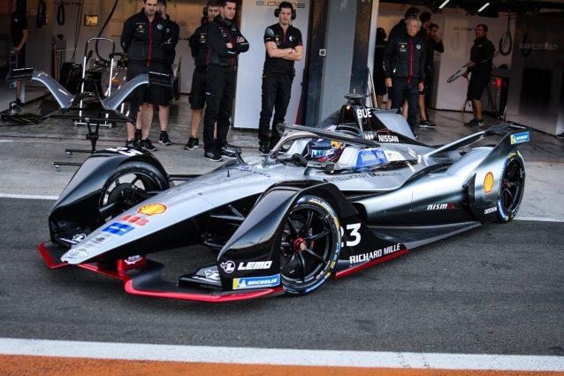 Sebastian Buemi al volante della IM01 / Nissan