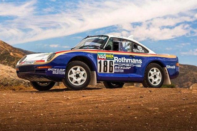 La Porsche 959 Paris–Dakar del 1985 – Foto RM Sotheby's