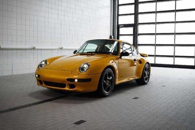 La Porsche Project Gold – Foto RM Sotheby's
