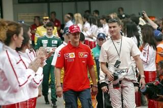 """Coulthard ricorda Schumacher: """"Michael mi manca, spero ancora in un miracolo"""""""