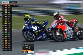 MotoGP Thailandia, Yamaha subito al top, 1° Vinales, 2° Rossi. Lorenzo solo 17° ma rientro ok