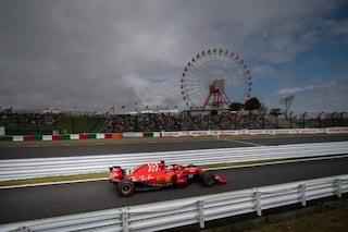 GP Giappone: Ferrari, sprofondo rosso a Suzuka. Mercedes, colpo da ko con le soft