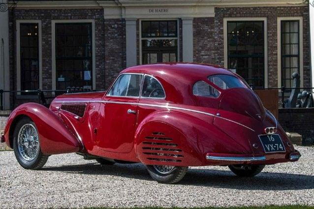 Alfa Romeo 8C 2900B Touring Berlinetta del 1939 – Foto Artcurial Motorcars