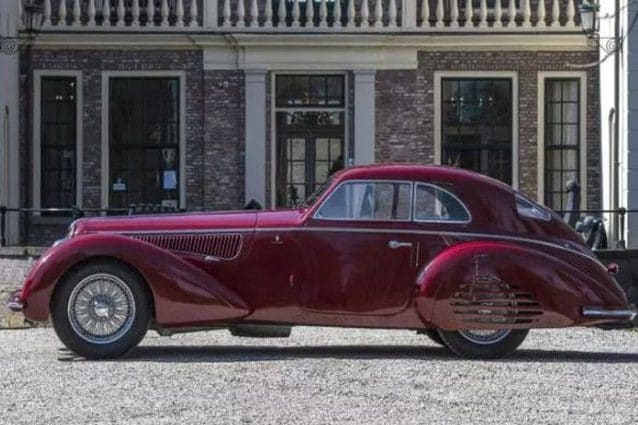 Alfa Romeo 8C 2900B Touring Berlinetta del 1939 –Foto Artcurial Motorcars