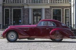 All'asta l'Alfa Romeo 8C 2900B Touring Berlinetta, l'esemplare del 1939 vale 22 milioni di euro