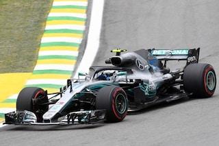 F1 GP Brasile, Prove libere 2: Mercedes davanti a tutti, ma la Ferrari è vicina