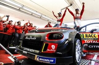 Fenomeno Loeb, torna e vince con la Citroen cinque anni dopo l'ultimo successo nel WRC