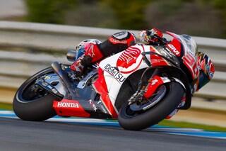 MotoGp test Jerez, Honda brilla con Nakagami e Marquez, vicino Lorenzo. Rossi fuori dai dieci