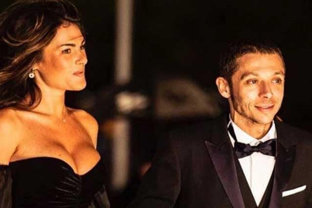 Francesca Sofia Novello e Valentino Rossi al Gala Fim / Instagram