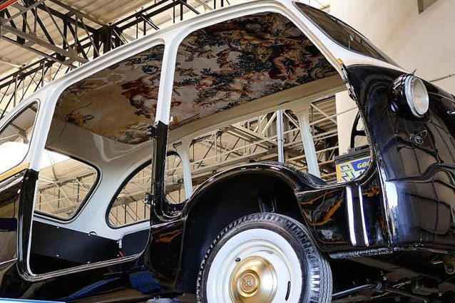 La Fiat 600 Multipla di Garage Italia – Foto Instagram