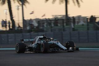 F1 GP Abu Dhabi, Prove libere 3: Hamilton davanti, le due Ferrari alle sue spalle