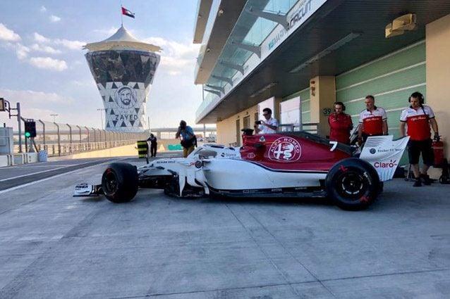 Kimi Raikkonen con l'Alfa Romeo Sauber – Foto Twitter