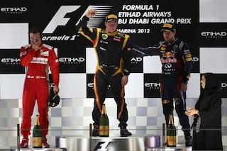 Dall'incubo di Alonso alla vittoria di Raikkonen con la Lotus, la storia del GP di Abu Dhabi