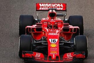 F1 Test Pirelli Abu Dhabi, Day 2: Ferrari in vetta, Leclerc migliora il record di Vettel