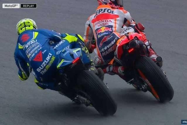 L'azione finita sotto la lente degli steward / MotoGP.com