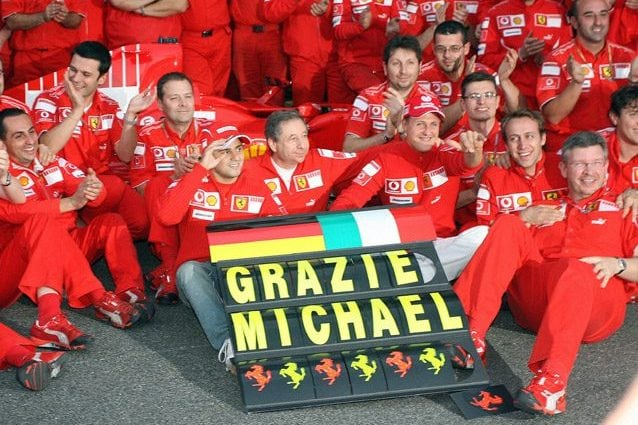 Michael Schumacher – Getty images