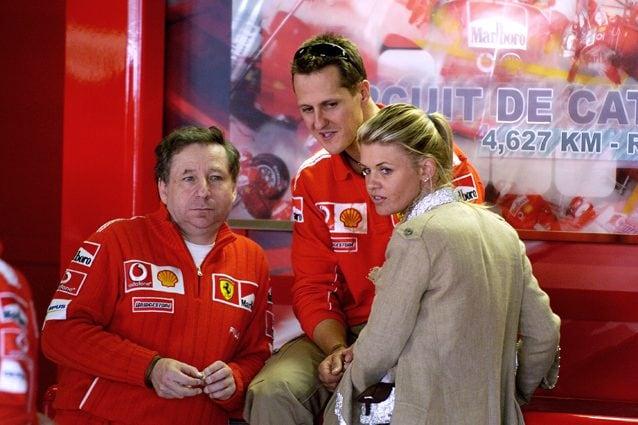 Michael Schumacher e la moglie Corinna – LaPresse