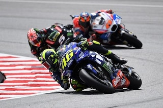 MotoGP Malesia: Rossi cade, ma campione è chi si rialza una volta di più