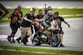 """Moto2, Bagnaia: """"Un anno difficile e l'aiuto di Valentino, così sono diventato campione"""""""