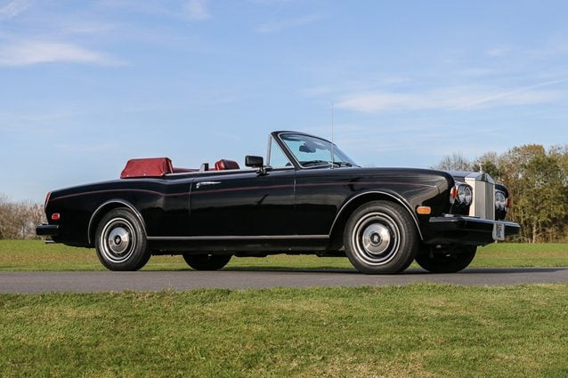 Rolls–Royce Corniche Convertible del 1984 che fu di Frank Sinatra