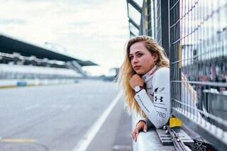 Sophia Floersch in pista dopo l'incidente di Macao, la tedesca tornerà a correre a Monza
