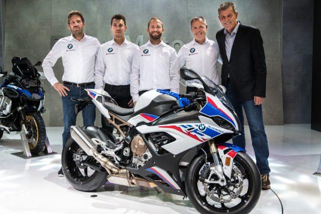 La nuova BMW S 1000 RR con cui Sykes e Reiterberger affronteranno la stagione 2019 del campionato del mondo Superbike