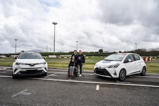 Toyota e Bebe Vio insieme per il primo corso di guida sicura dedicato ai disabili