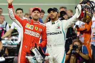 Hamilton e Vettel premiati dal British Racing Drivers' Club, trofeo speciale per Mick Schumacher