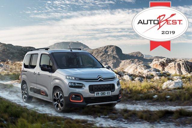 Il nuovo Citroen Berlingo vince il premio Autobest 2019
