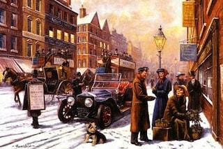 Natale a quattro ruote, ecco le cartoline d'auguri con le auto storiche